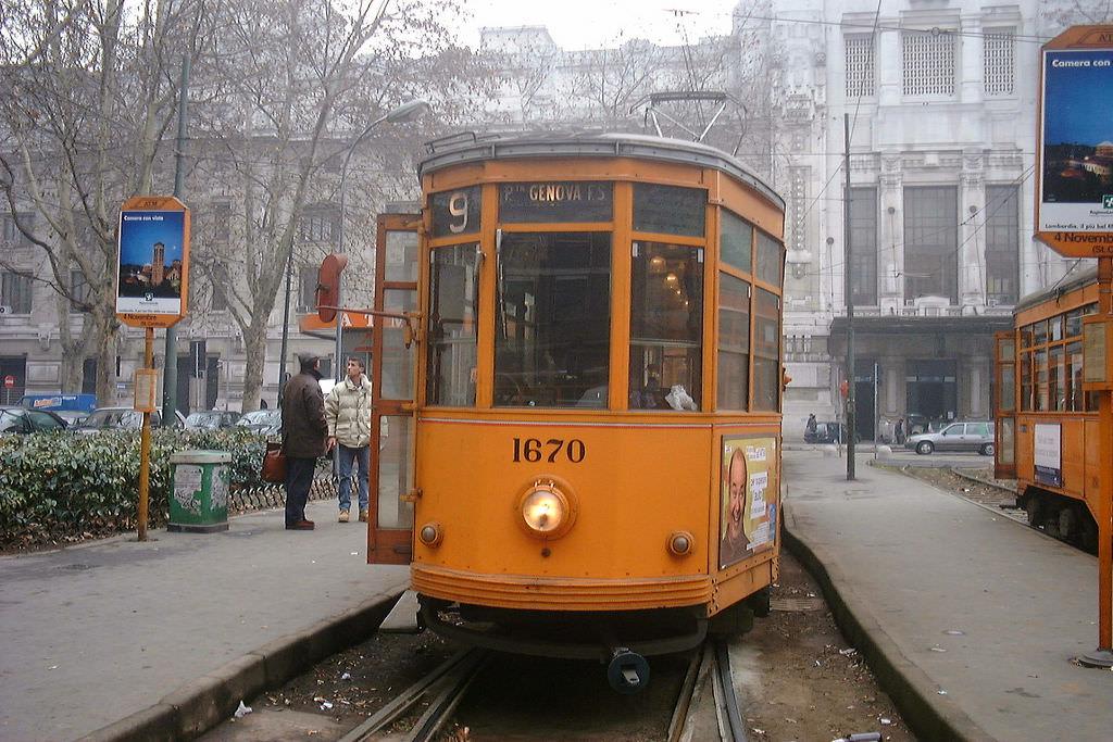 Milano tram - 5 by LHOON, on Flickr