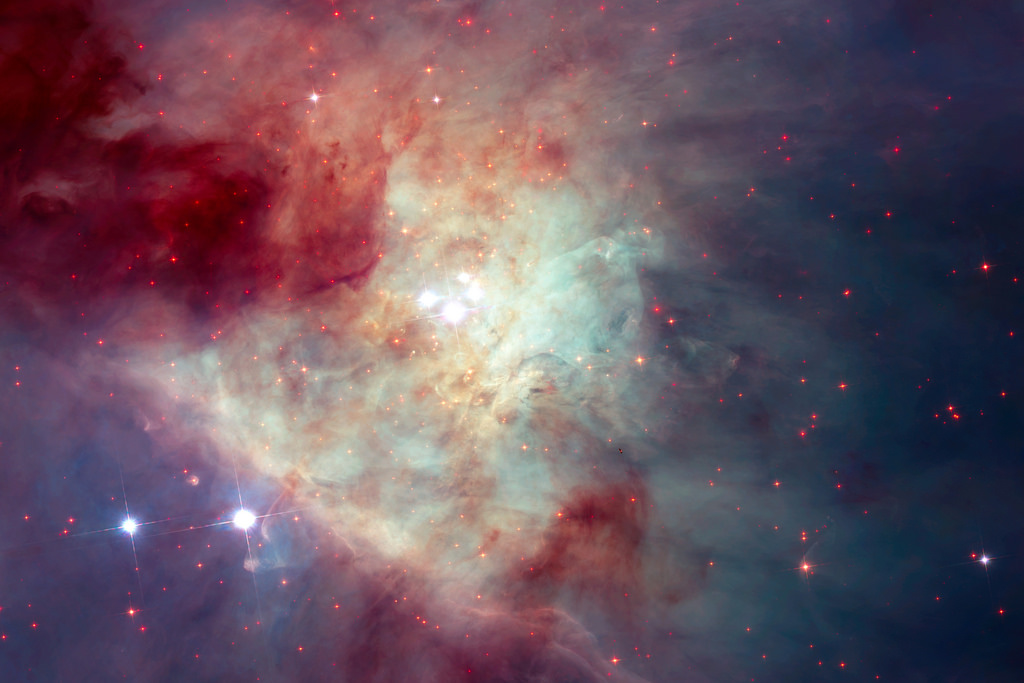 New Hubble image of Kleinmann-Low Nebula by europeanspaceagency, on Flickr