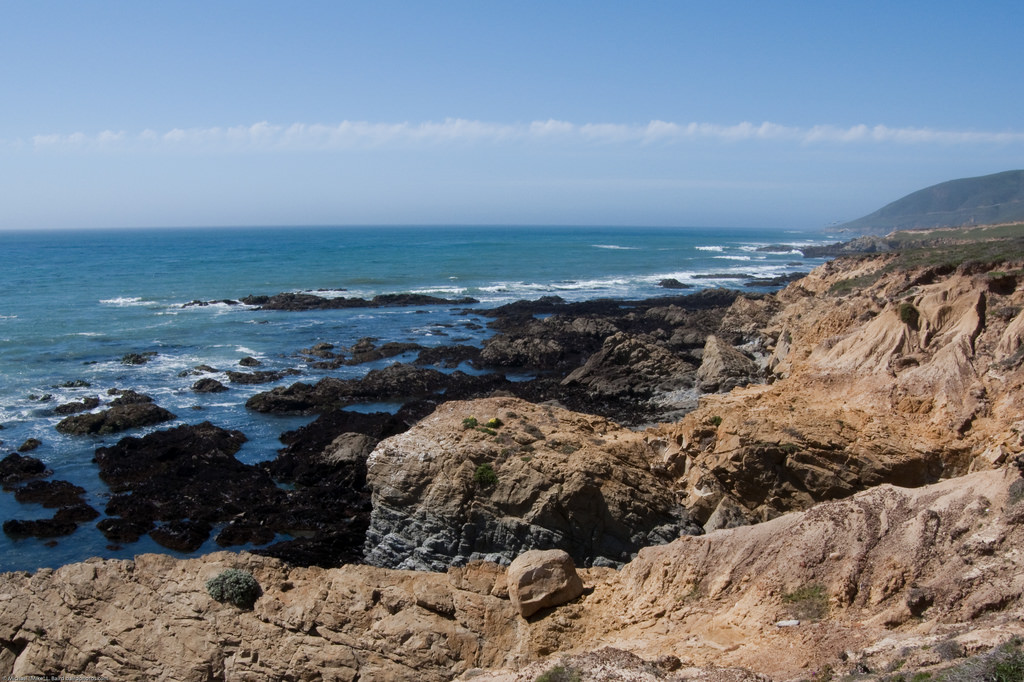 Pacific Ocean Bluffs looking north, at d by mikebaird, on Flickr