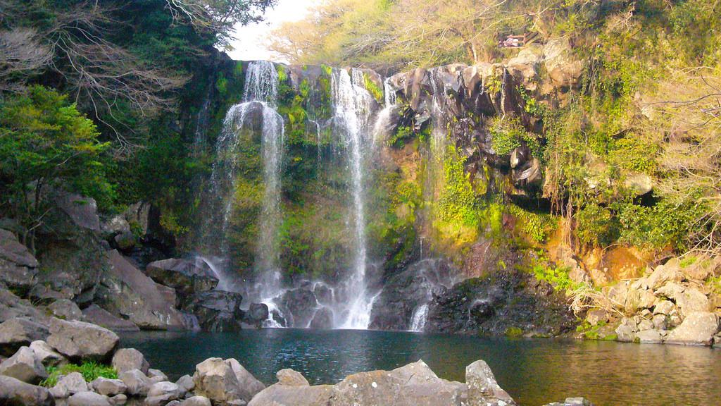 Cheonjiyeon waterfall by JoopDorresteijn, on Flickr