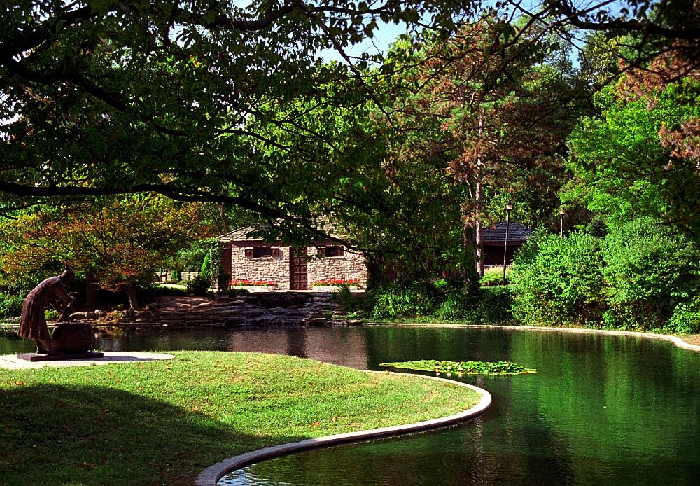 "Cincinnati - Eden Park ""Twin Lakes"" by David Paul Ohmer, on Flickr"