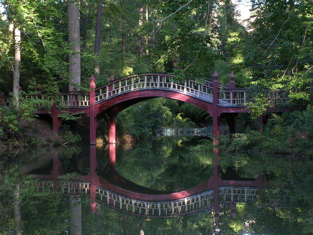 The bridge over the Crim Dell at the Col by benuski, on Flickr