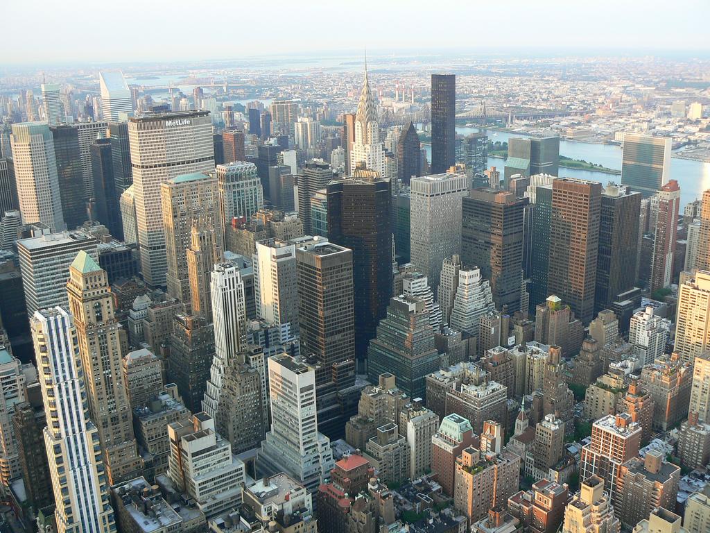 New York Manhatten skyscrapers taken fro by Tim Pearce, Los Gatos, on Flickr