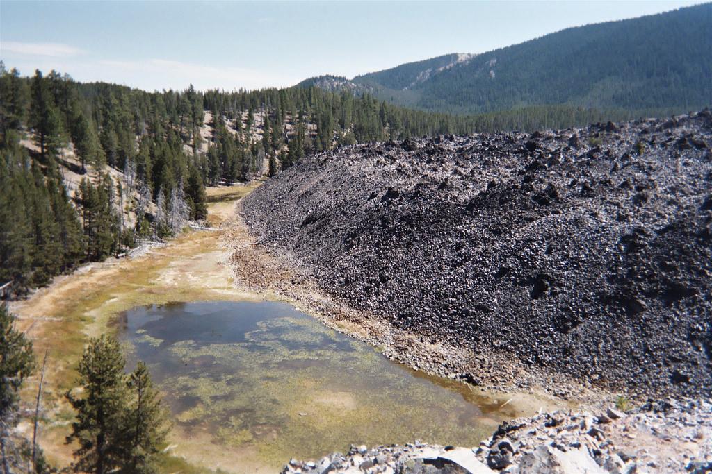 Big Obsidian Flow by glennwilliamspdx, on Flickr
