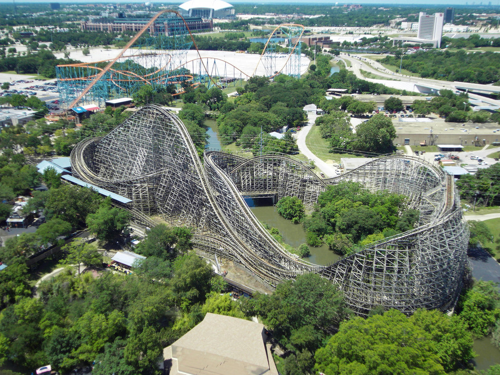 Six Flags Over Texas by Clintus McGintus, on Flickr