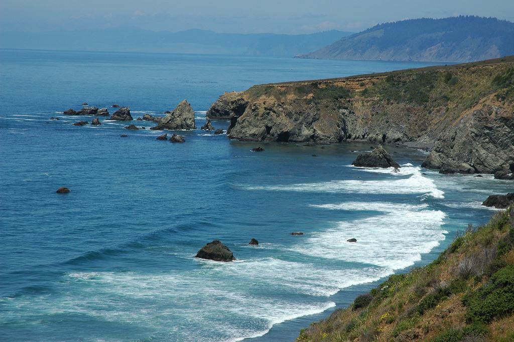 Rural California coastline, cliffs, over by Wonderlane, on Flickr