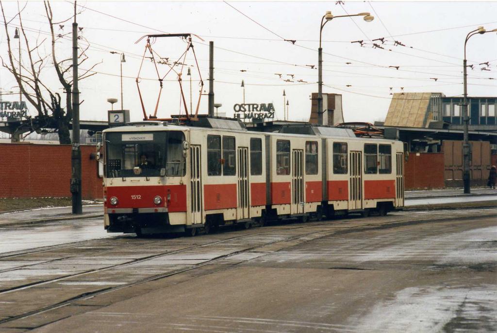 Ostrava Tramvaj. Tatra KT8D5 tram nr 151 by sludgegulper, on Flickr