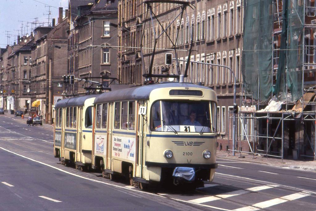 Straßenbahn Leipzig.Tatra  T4D Tram pai by sludgegulper, on Flickr