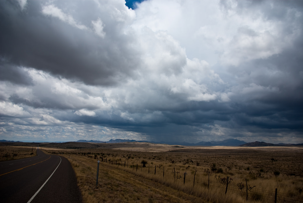 West Texas Rain Shower by Corey Leopold, on Flickr
