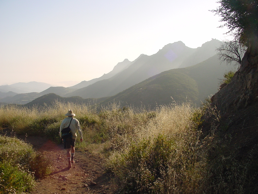 Hiking Backbone Trail by Santa Monica Mountains National Recreation Area, on Flickr