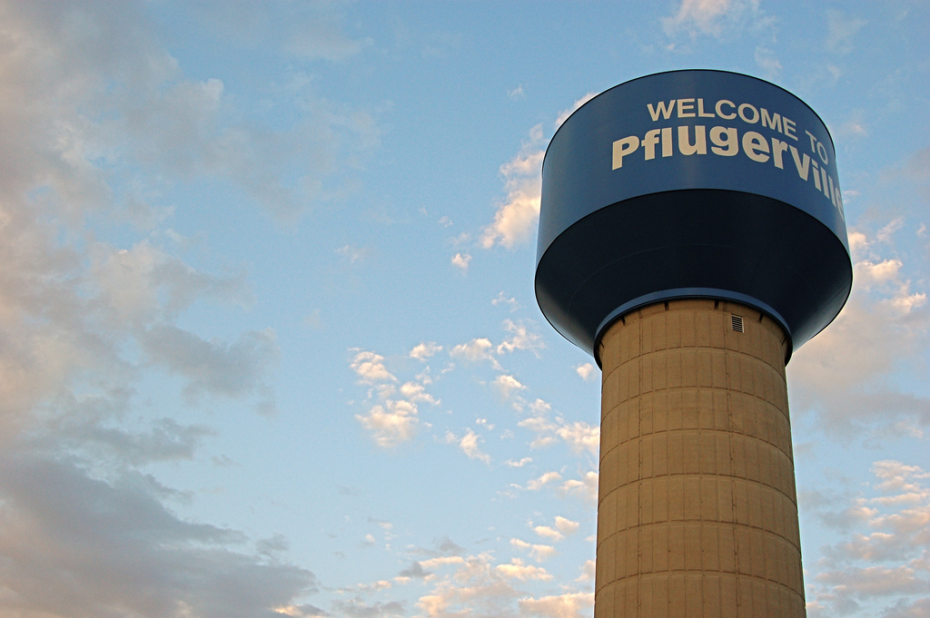 Welcome To Pflugerville by JD Hancock, on Flickr
