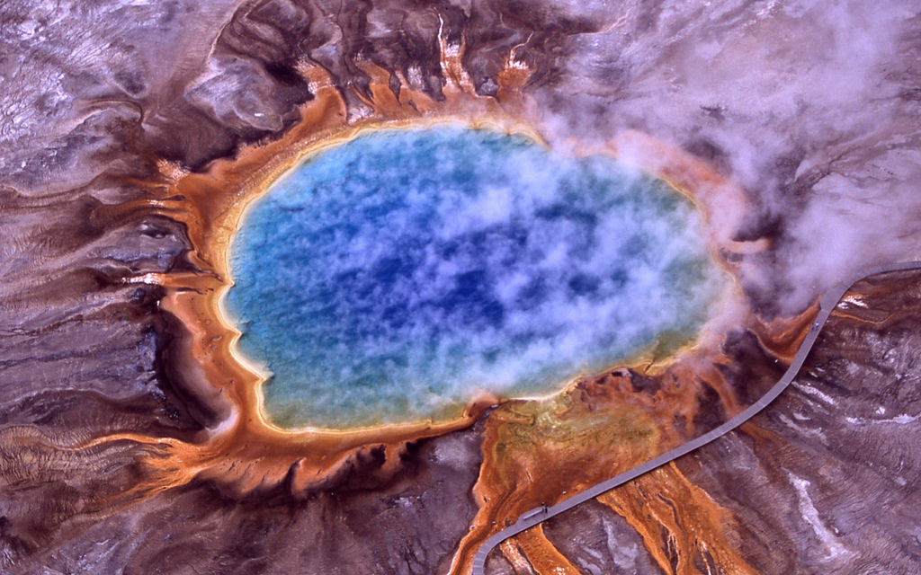 Grand Prismatic Spring - Yellowstone Nat by Trodel, on Flickr