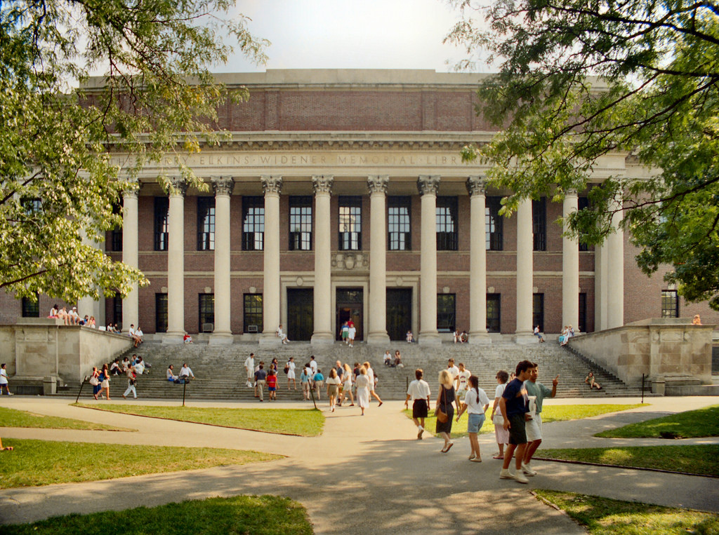 P_30p Cambridge - The Widener Library (1 by CthulhuWho1 (Will Hart), on Flickr