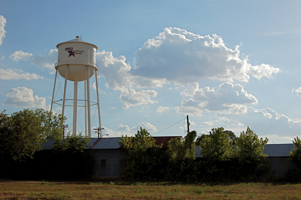 Lockhart Water Tower by JD Hancock, on Flickr