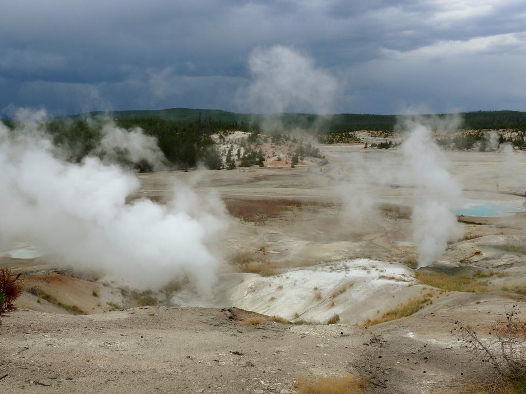 Norris Basin fumaroles, Yellowstone by david__jones, on Flickr