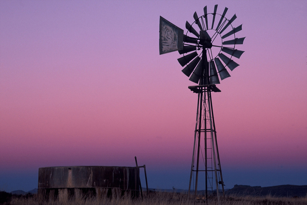 Karoo Windmill - Central Karoo, South Af by South African Tourism, on Flickr