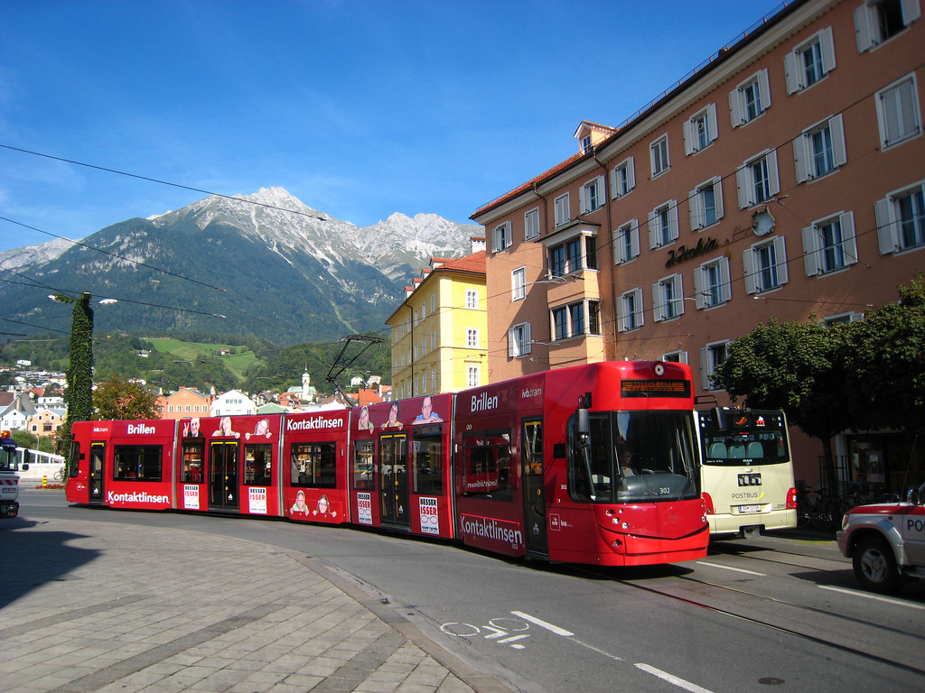 ivb.tram in Innsbruck by Oberau-Online, on Flickr