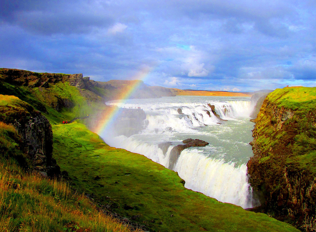 Gullfoss waterfall - Iceland by o palsson, on Flickr