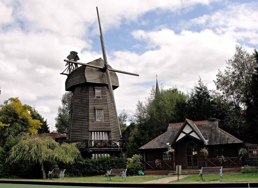 Wraysbury Garden Windmill by Maxwell Hamilton, on Flickr