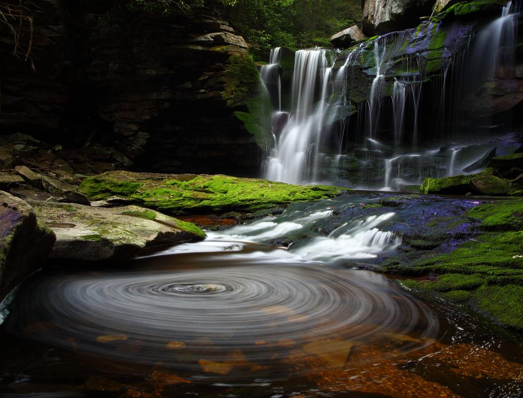 Elakala Waterfalls Swirling Pool by ForestWander.com, on Flickr
