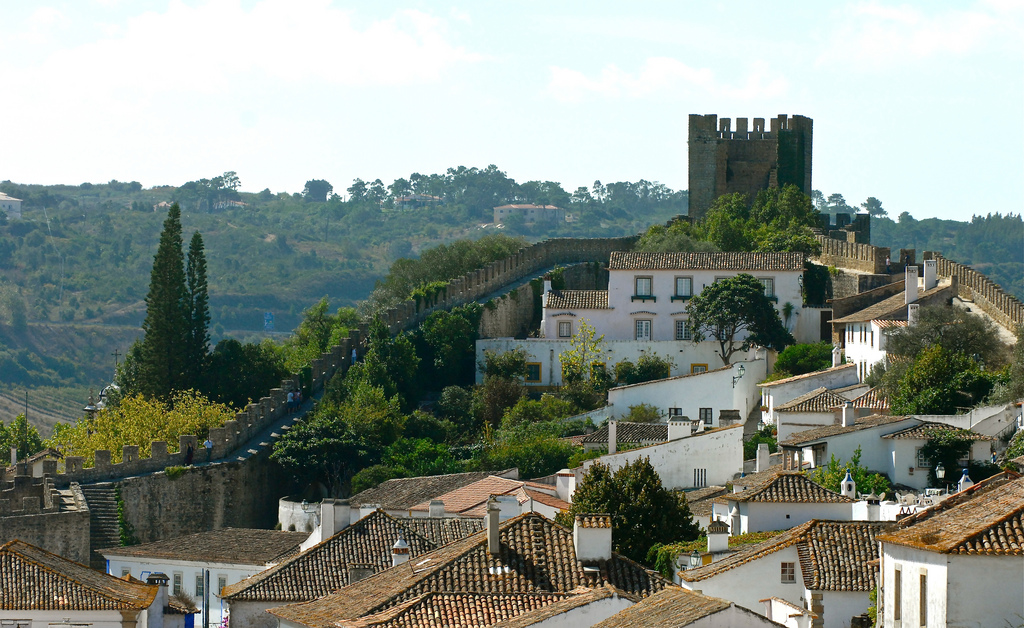 The Óbidos' Castle by pedrosimoes7, on Flickr