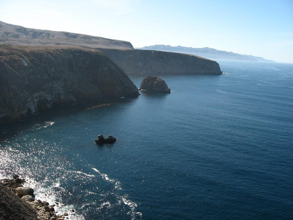 Cavern Point, Santa Cruz Island, Channel by Ken Lund, on Flickr