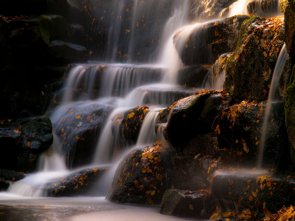 Waterfall at Virginia Water by wwarby, on Flickr