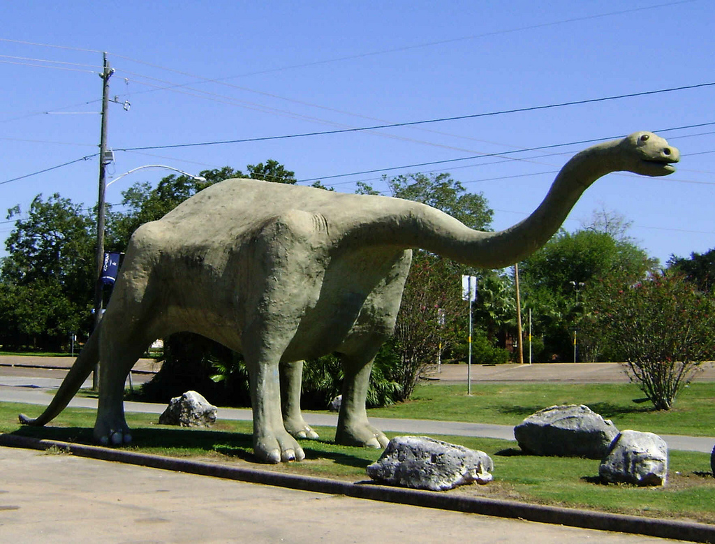 Dinosaur Park, Wharton, Texas 1018091310 by Patrick Feller, on Flickr