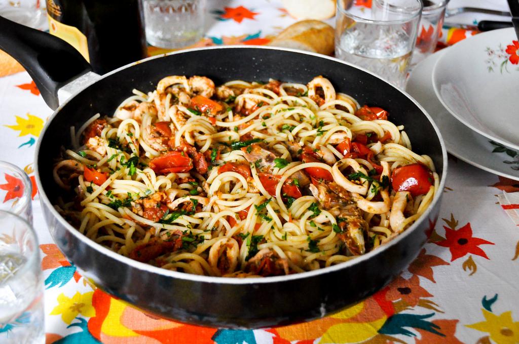 Spaghetti allo scoglio by gminguzzi, on Flickr
