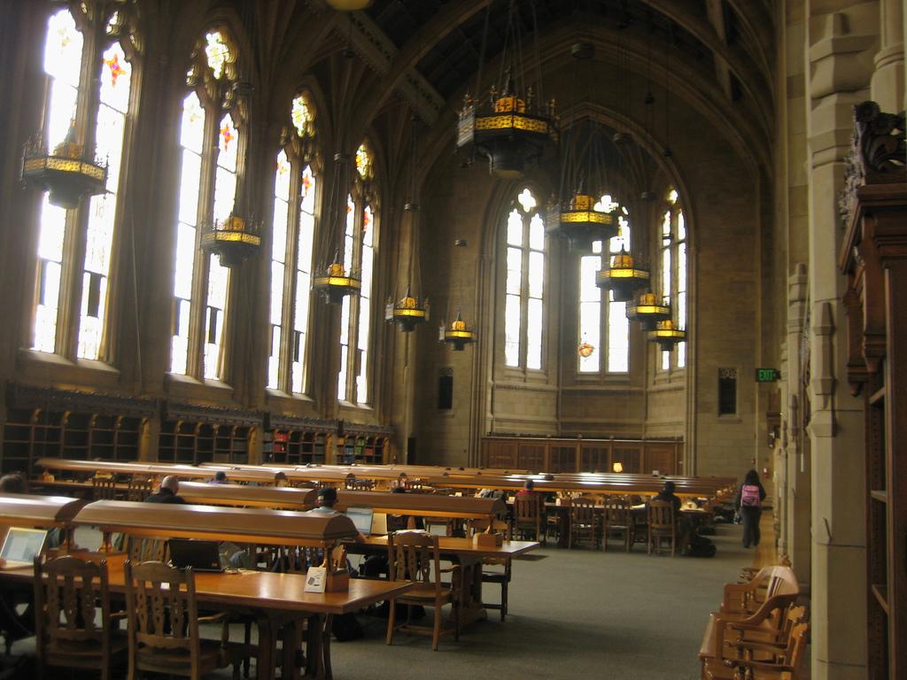 Suzzallo Library @ UW by Kieran Lynam, on Flickr