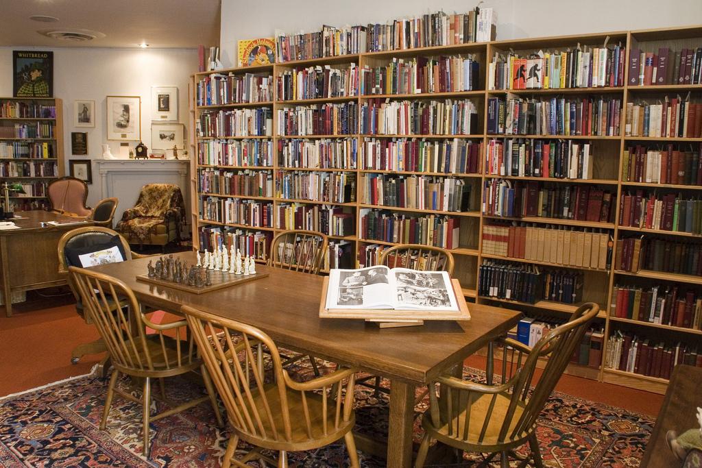 Arthur Conan Doyle room, Toronto Referen by Toronto Public Library Special Collections, on Flickr