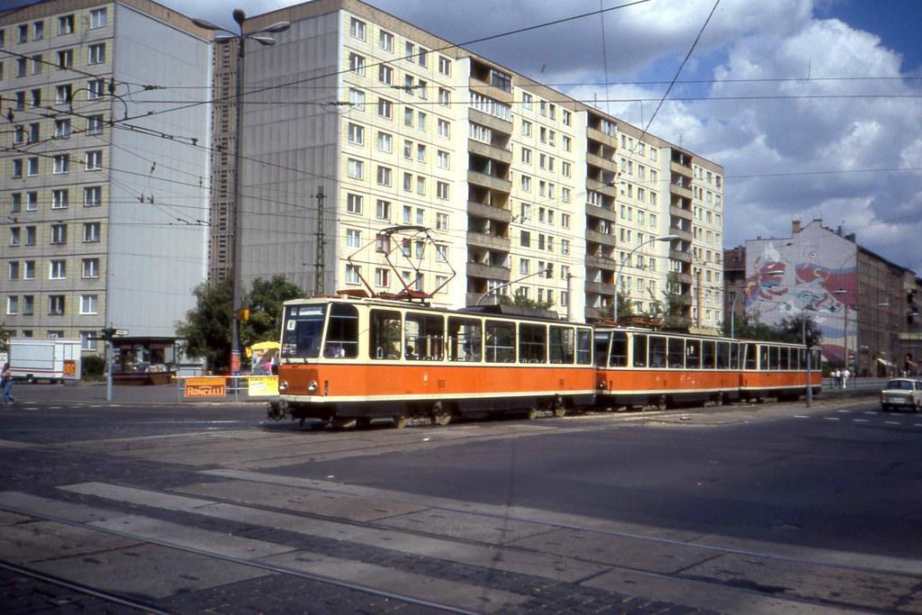 BVB 3-unit Tatra T6A2- T6A2 - B6A2  tram by sludgegulper, on Flickr