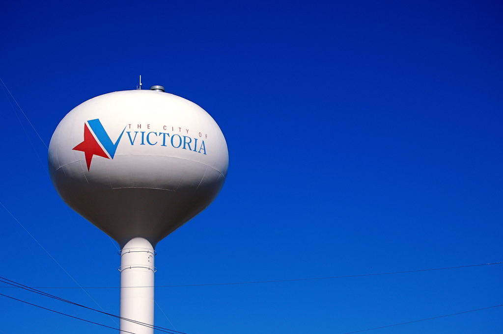 The City Of Victoria Water Tower by JD Hancock, on Flickr