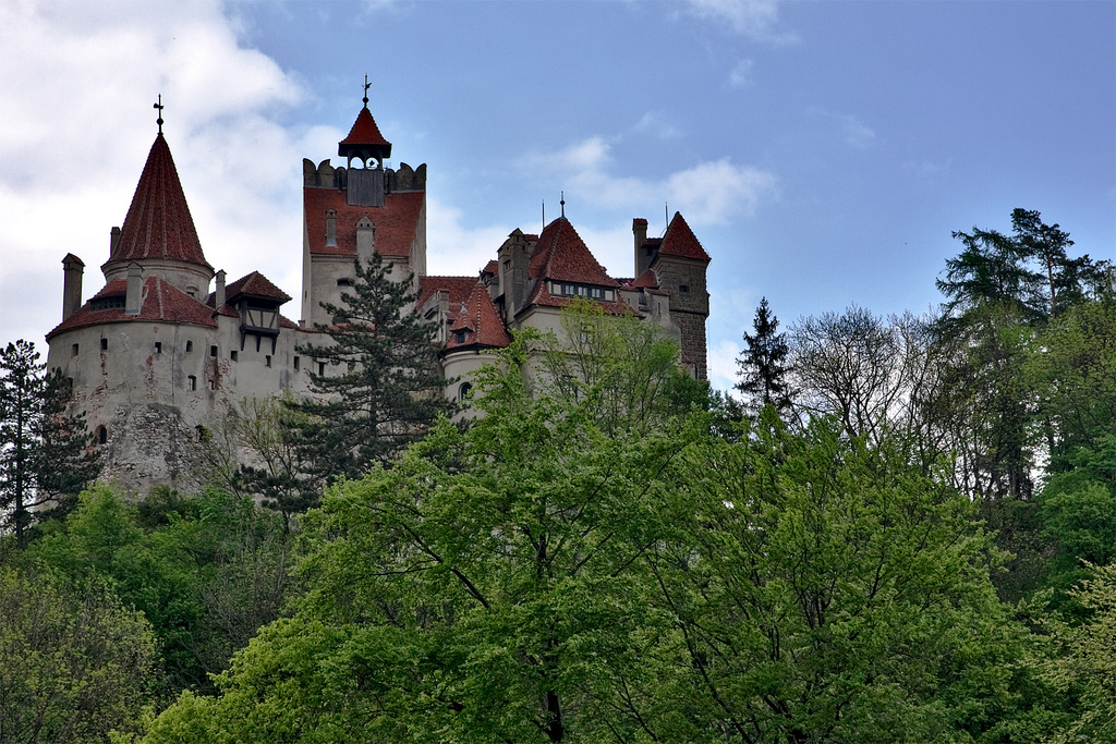 Bran Castle as seen from the south side by Horia Varlan, on Flickr