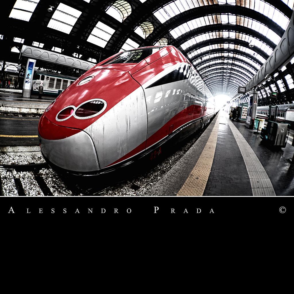 Milano - Stazione Centrale - ETR 500 Fre by bibendum84, on Flickr