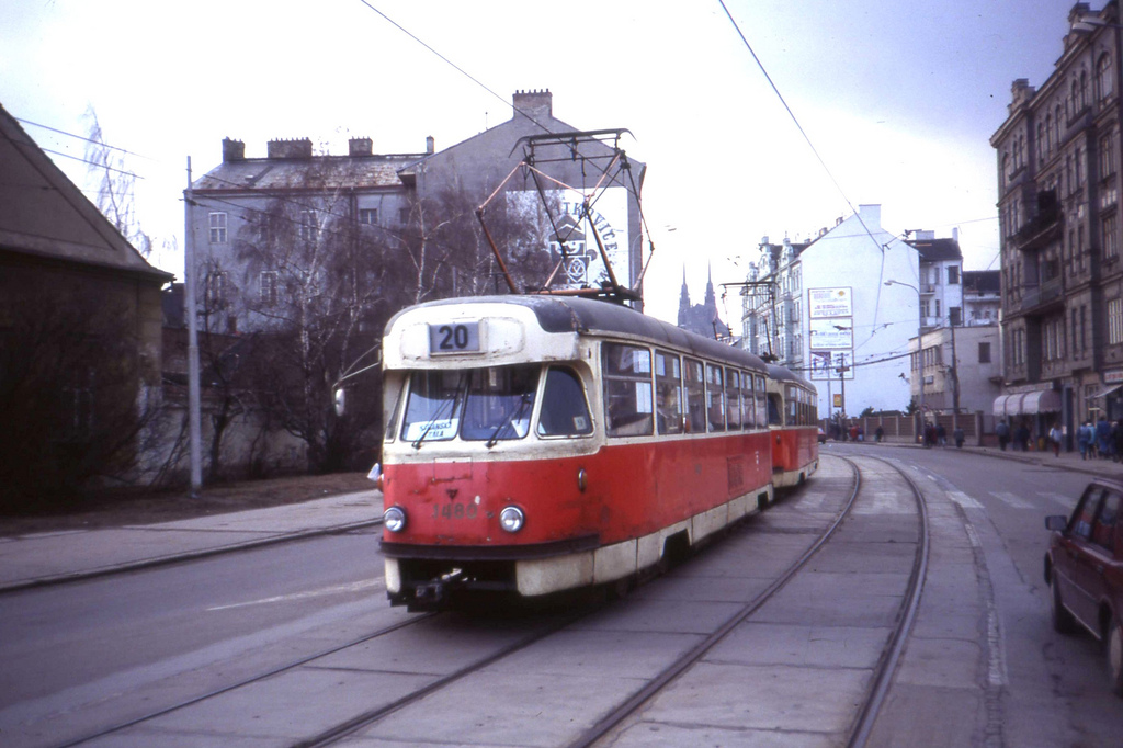 Brno Tramvaj. Tatra T2 tram nr 1480, Kř by sludgegulper, on Flickr