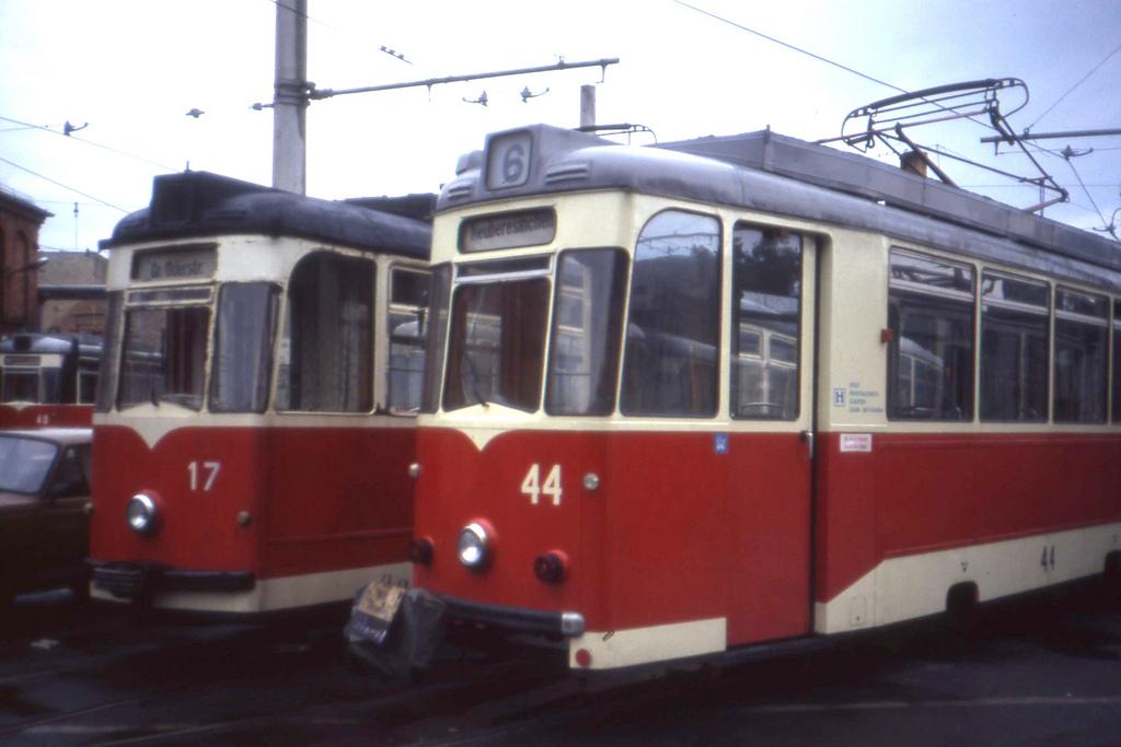 Frankfurt an der Oder Tram depot.  REKO by sludgegulper, on Flickr