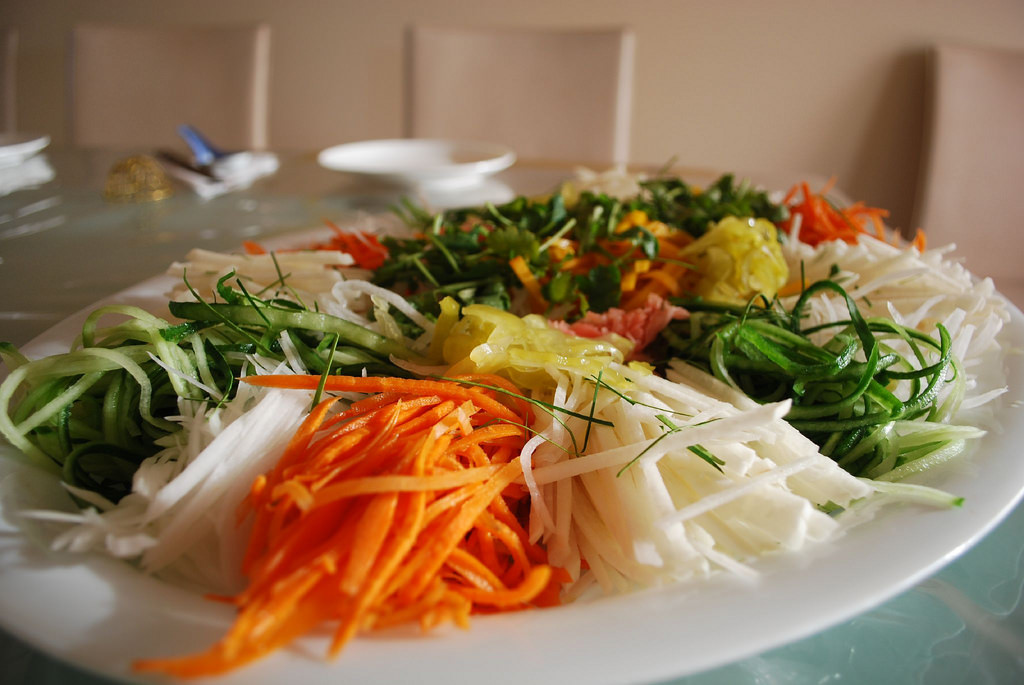 Yee Sang assembled by Julia by avlxyz, on Flickr