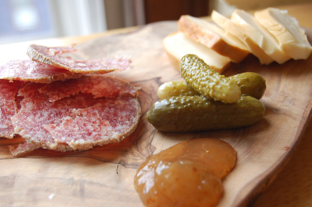 Homemade Charcuterie Plate by snowpea&bokchoi, on Flickr