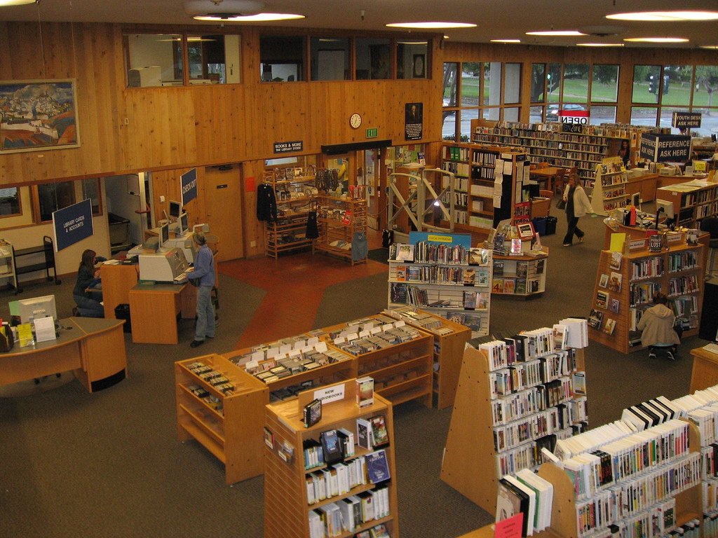 Inside the Monterey Public Library by montereypubliclibrary, on Flickr