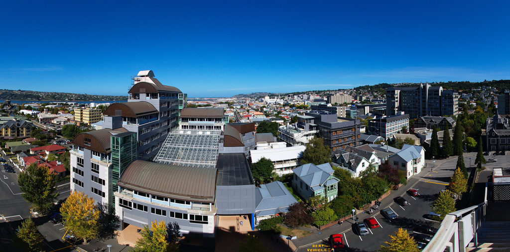University of Otago campus panorama by Tomas Sobek, on Flickr