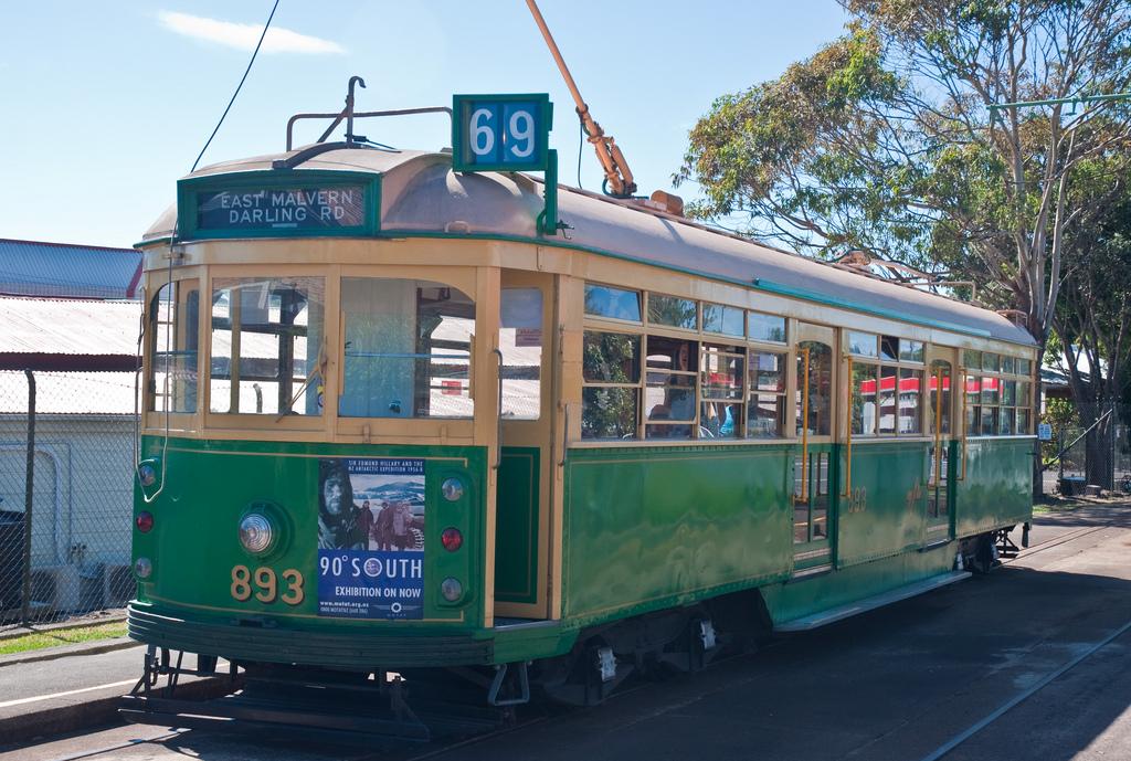 1944 Melbourne tram, MOTAT, Auckland, Ne by PhillipC, on Flickr