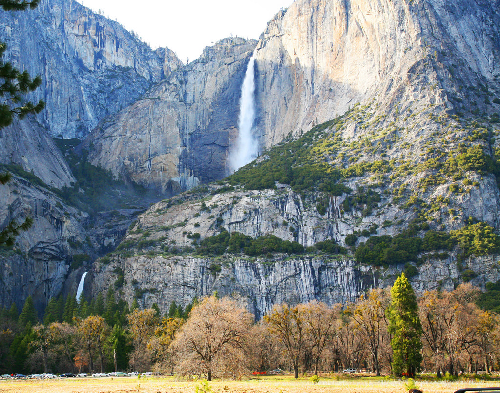 Two stages of Yosemite Falls by jitze, on Flickr