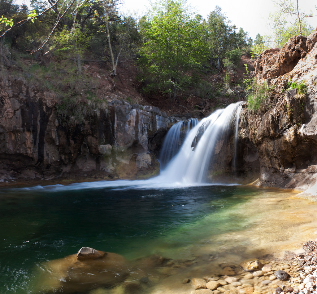 Fossil Creek Waterfall by squeaks2569, on Flickr