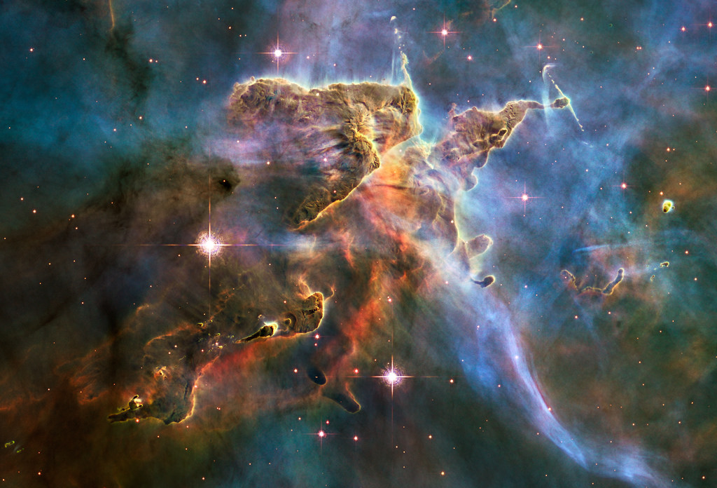 """Hubble Captures Spectacular """"Landscape"""" by NASA Goddard Photo and Video, on Flickr"""