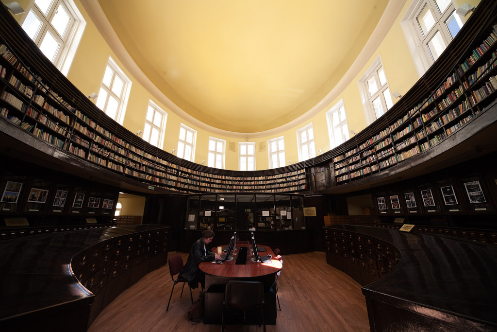 Sofia University library by atphoto.bg, on Flickr