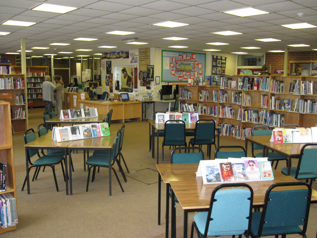 The School Library and Learning Resource by AberCJ, on Flickr