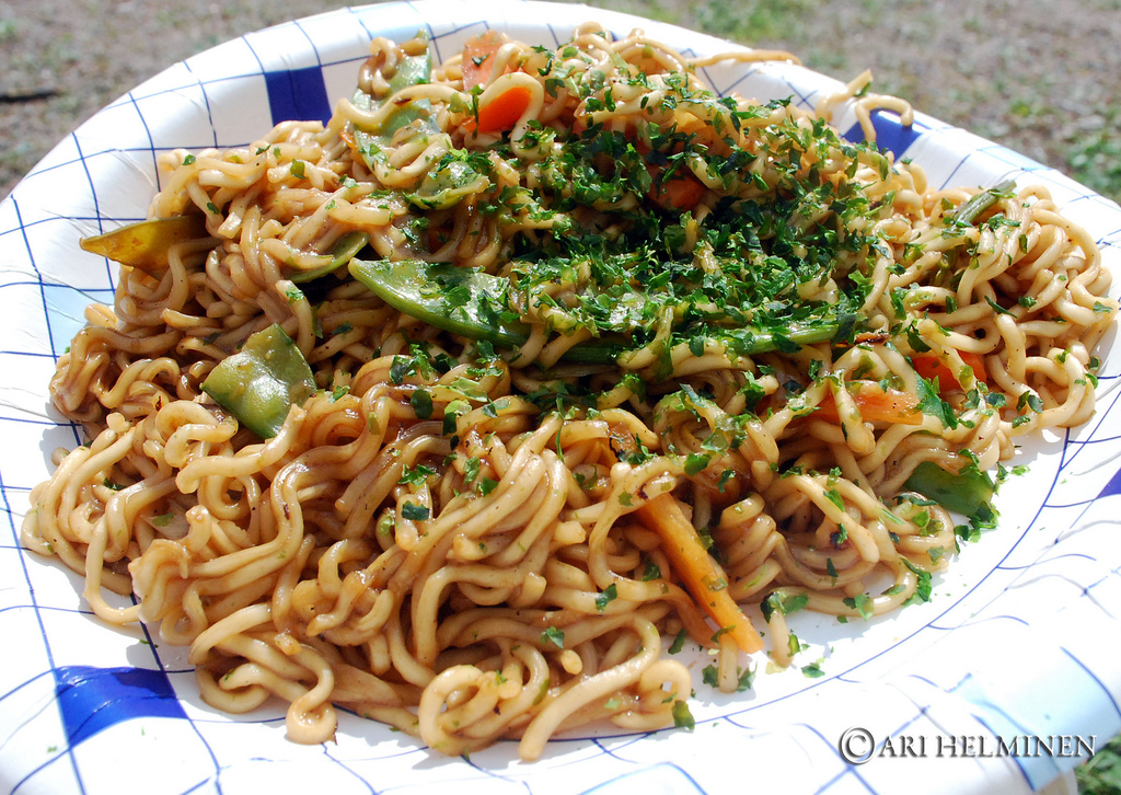 Yakisoba. 焼きそば .fried noodles by Ari Helminen, on Flickr