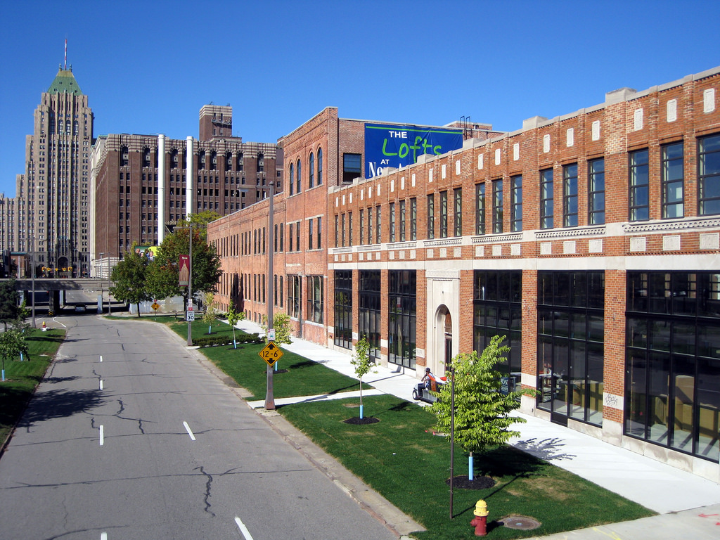 New Amsterdam Lofts by Dig Downtown Detroit, on Flickr