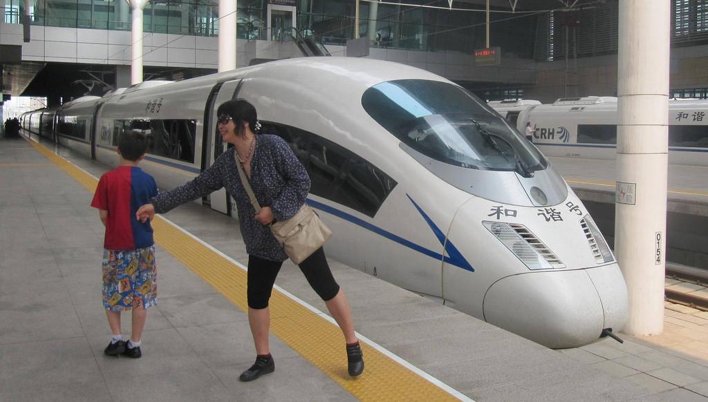 High Speed Bullet Train China by http://klarititemplateshop.com/, on Flickr